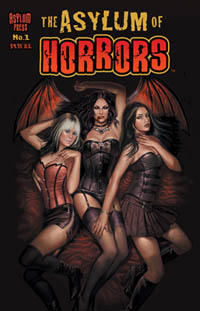 Asylum of Horrors 1 Cover