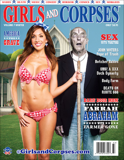Girls and Corpses magazine Farrah Abraham