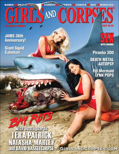 Girls and Corpses magazine Tera Patrick