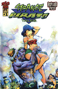 Strange Pirate Tales 1 Cover