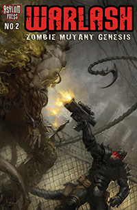 Warlash Zombie Mutant Genesis 2 Cover